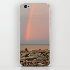 Rainbow out at Sea iPhone & iPod Skin