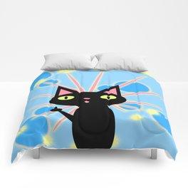 Starburst Kittykami Comforters