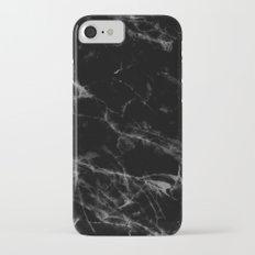 Black Marble iPhone 7 Slim Case