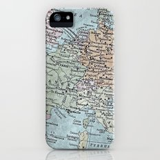 old map of Europe Slim Case iPhone (5, 5s)