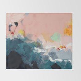 la mer Throw Blanket