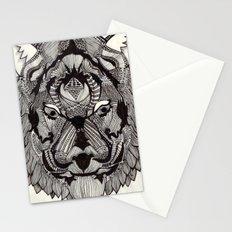 Tiger by Mieke Kristine Stationery Cards