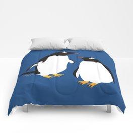 Gentoo penguin Comforters