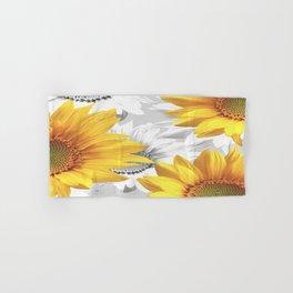 Sunflower Bouquet #decor #society6 #buyart Hand & Bath Towel