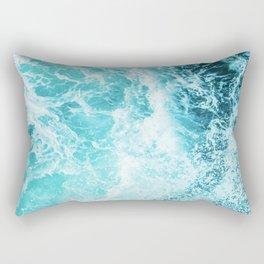 Perfect Sea Waves Rechteckiges Kissen