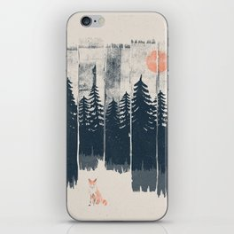 A Fox in the Wild... iPhone Skin
