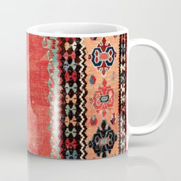 Sivas  Antique Cappadocian Turkish Niche Kilim Print Coffee Mug