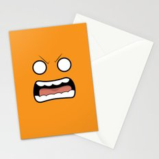 Scary Face Stationery Cards