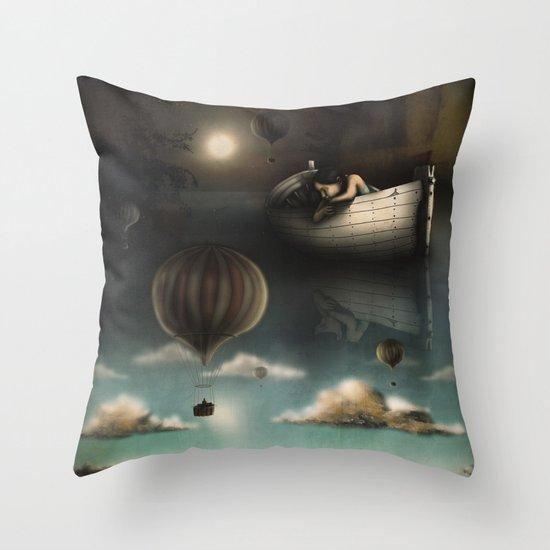 Above, Below, & Beyond Throw Pillow