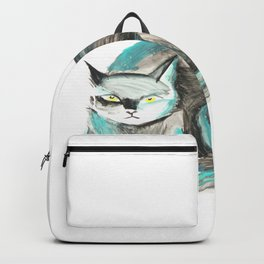 Monday mood, happy cat Backpack