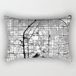 Las Vegas city map Rectangular Pillow