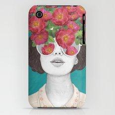 The optimist // rose tinted glasses iPhone (3g, 3gs) Slim Case