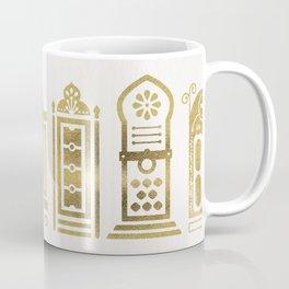 Moroccan Doors – Gold Palette Coffee Mug