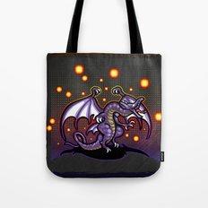 Final Fantasy Bahamut Tote Bag
