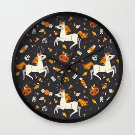 Candy Unicorns Wall Clock