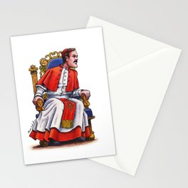 John Cleese of Monty Python: The Last Supper Stationery Cards