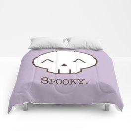Spooky Skull Kawaii | Halloween Is Coming! Comforters