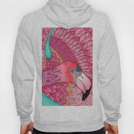 Heart Flamingo Hoody