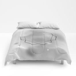 white trilato Comforters