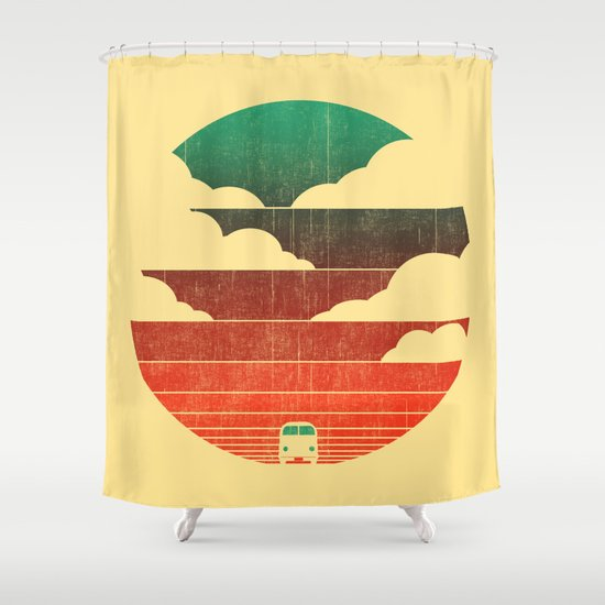 Go West Shower Curtain