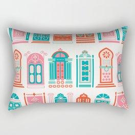 Moroccan Doors – Watermelon Palette Rectangular Pillow