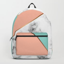 Marble Geometry 056 Backpack