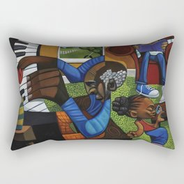 JAMMIN WITH UNCLE BOB Rectangular Pillow