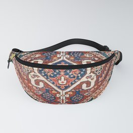 Qashqai Khorjin  Antique Fars Persian Bag Face Fanny Pack