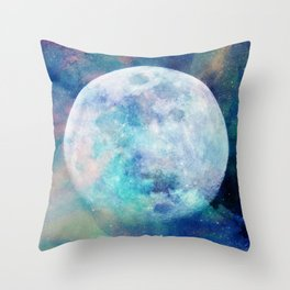 Moon + Stars Throw Pillow