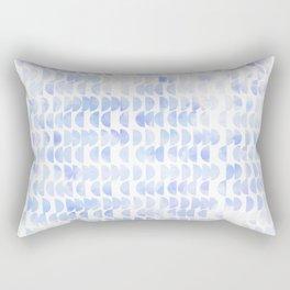 Hidden Treasures - Half Moon Whispers Rectangular Pillow