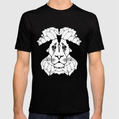 The Mane Attraction Mens Fitted Tee Black MEDIUM
