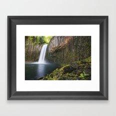 Abiqua Falls Framed Art Print