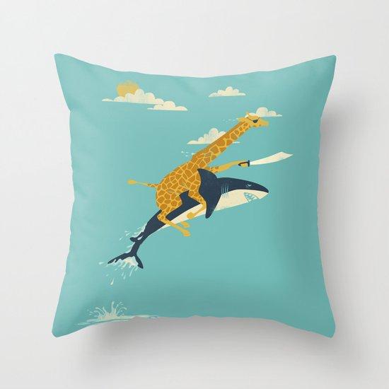 Onward! Throw Pillow