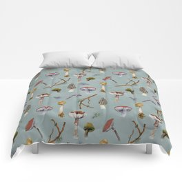 Mushroom Forest Party Comforters