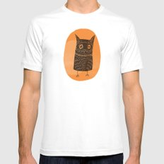 This is my owl MEDIUM White Mens Fitted Tee