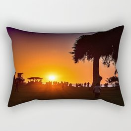 Saturday In The Park ( La Jolla Cove) Rectangular Pillow