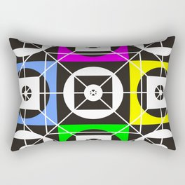 Geometry of sex on the wall tapestry Rectangular Pillow
