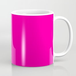 Neon Pink Solid Colour Coffee Mug