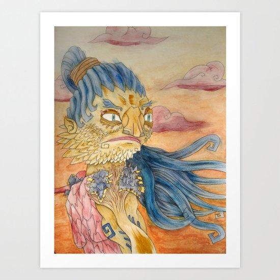 Shaman 1 Art Print