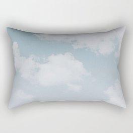 summer clouds Rectangular Pillow