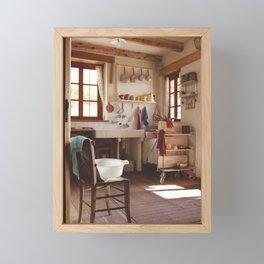 Old times Framed Mini Art Print