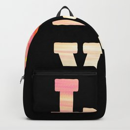 Donuts Love Heart Love Donut Beautiful cool Backpack