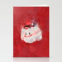 mario Stationery Cards featuring Mario by Ronan Lynam