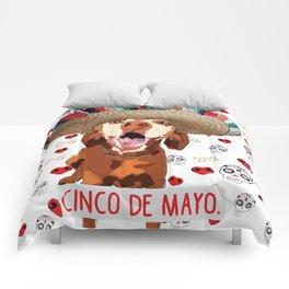 Cinco de Vizsla Comforters