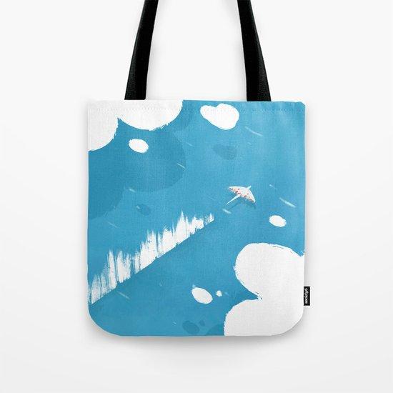 sea skimmer Tote Bag