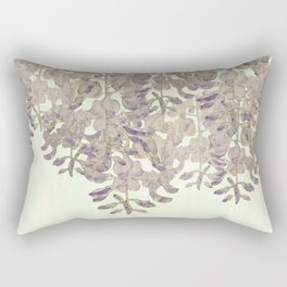 Wisteria - a thing of beauty is a joy forever Rectangular Pillow