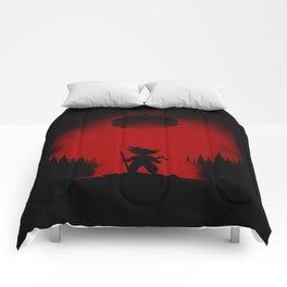 Little Goku Silhouette v.1 Comforters