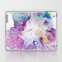 Blooming Iris flower Laptop & iPad Skin