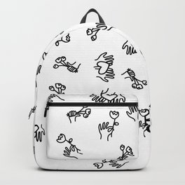 gifts and quality time are my love languages Backpack