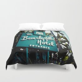 Beverly Hills Hotel, No. 2 Duvet Cover